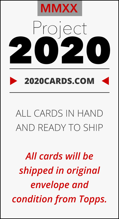 2020cards.com - Topps Project 2020 Cards