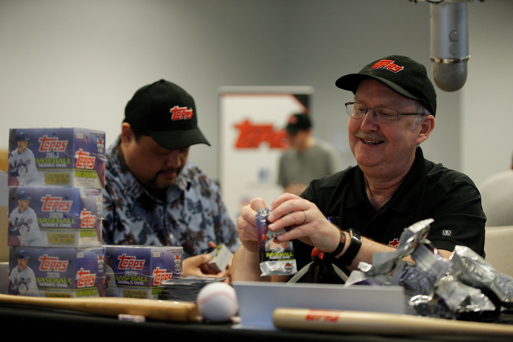 Topps Million Card Rip Party - Me and Steve Wrate from All Star Sports Cards